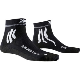 X-Socks Run Speed Two Calze Donna, opal black